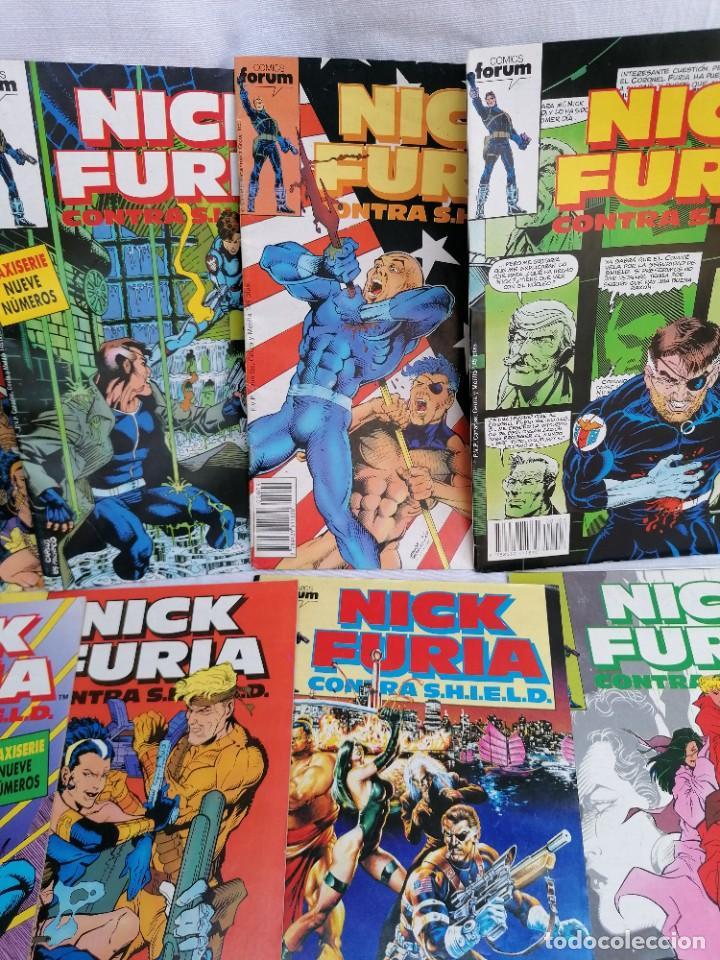 Tebeos: Lote de antiguos tebeos de Nick Furia agente de Shild - Foto 3 - 257342645