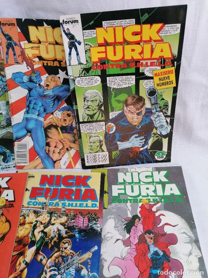 Tebeos: Lote de antiguos tebeos de Nick Furia agente de Shild - Foto 4 - 257342645