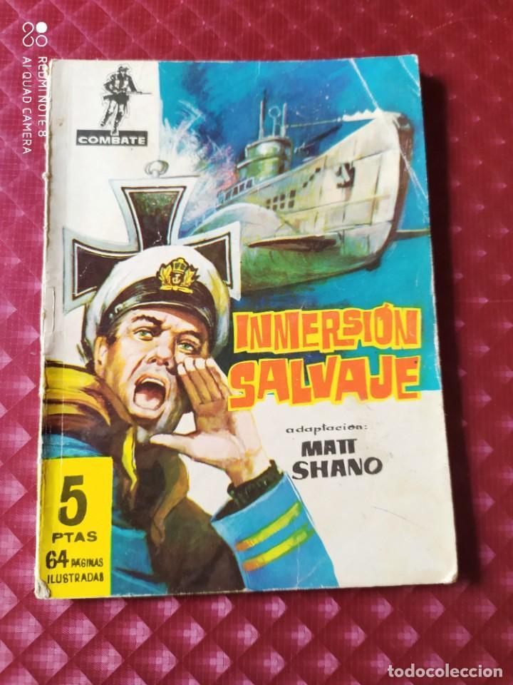 COMBATE 65 INMERSION SALVAJE 64 PAGINAS FERMA (Tebeos y Comics - Ferma - Combate)