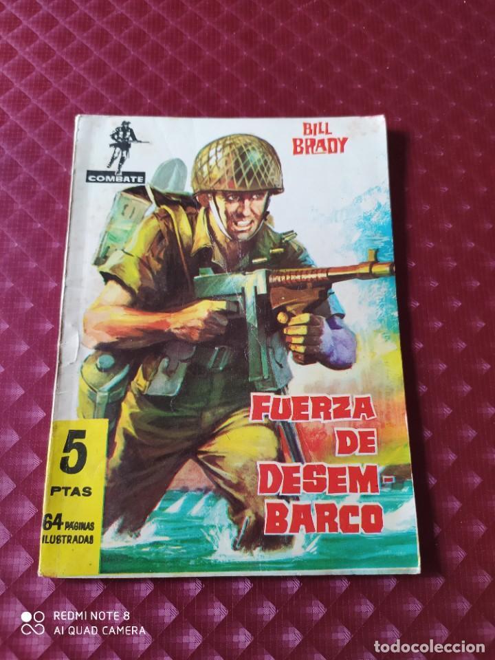 COMBATE 33 FUERZA DE DESEMBARCO 64 PAGINAS BILL BRADY FERMA (Tebeos y Comics - Ferma - Combate)
