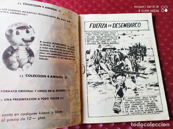 Tebeos: COMBATE 33 FUERZA DE DESEMBARCO 64 PAGINAS BILL BRADY FERMA - Foto 2 - 257345495