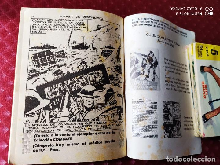 Tebeos: COMBATE 33 FUERZA DE DESEMBARCO 64 PAGINAS BILL BRADY FERMA - Foto 3 - 257345495