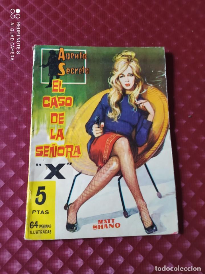 AGENTE SECRETO 18 EL CASO DE LA SEÑORA X MATT SHANO 64 PAGINAS FERMA (Tebeos y Comics - Ferma - Agente Secreto)