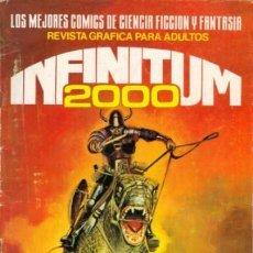 Tebeos: INFINITUM 2000 -Nº 26 -LOS MEJORES CÓMICS DE CIENCIA FICCIÓN Y FANTASÍA-1981-BUENO-DIFÍCIL-LEA-4620. Lote 257535385
