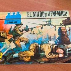 Tebeos: COLECCION CINECOLOR COMBATE Nº 9 EL MIEDO ES EL ENEMIGO (FERMA ) ORIGINAL (COIB80). Lote 257660825
