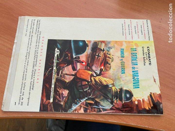 Tebeos: COLECCION CINECOLOR COMBATE Nº 1 SELVA PERDIDA (FERMA ) ORIGINAL (COIB80) - Foto 2 - 257661170