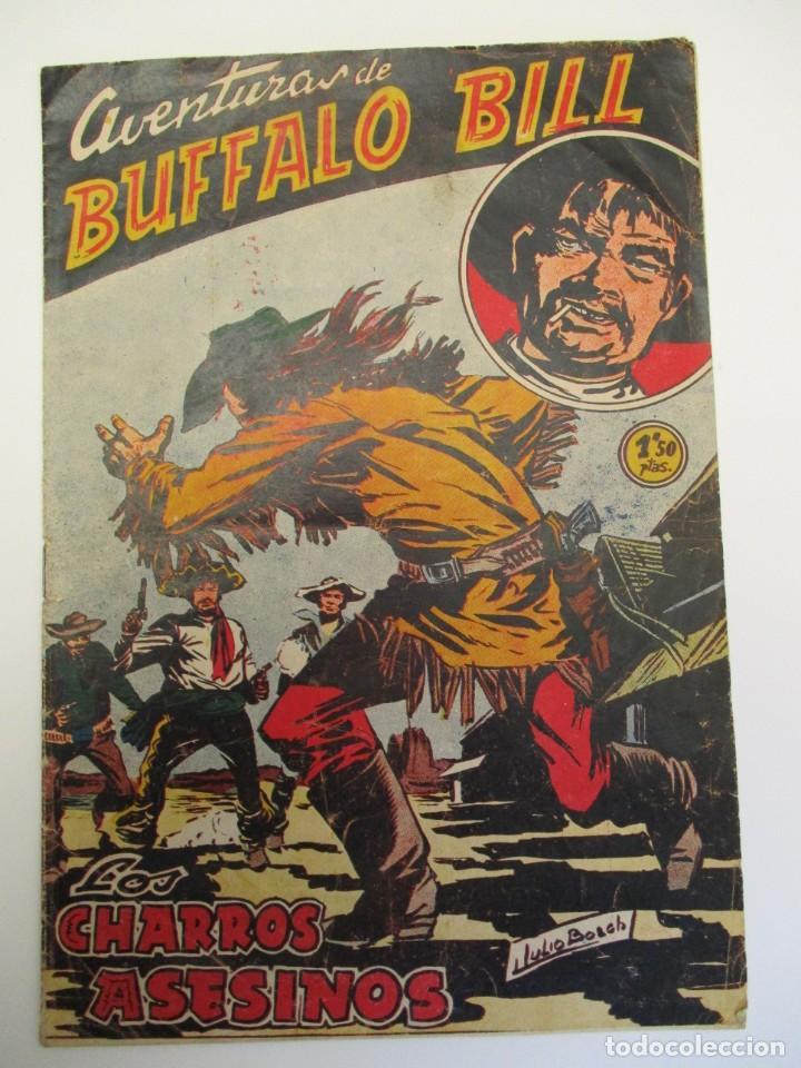 BUFFALO BILL (1955, JUVENIS / FERMA) 46 · 15-IV-1957 · LOS CHARROS ASESINOS (Tebeos y Comics - Ferma - Otros)