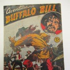Tebeos: BUFFALO BILL (1955, JUVENIS / FERMA) 46 · 15-IV-1957 · LOS CHARROS ASESINOS. Lote 258318355