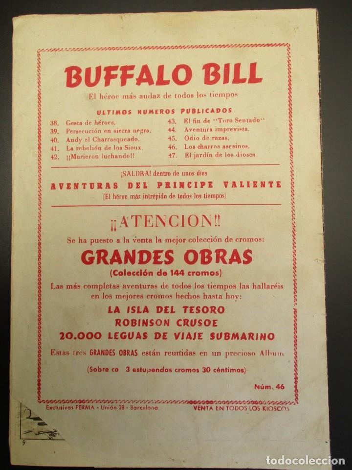 Tebeos: BUFFALO BILL (1955, JUVENIS / FERMA) 46 · 15-IV-1957 · LOS CHARROS ASESINOS - Foto 3 - 258318355