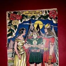 Tebeos: LÁGRIMAS DE SIGREDA COLECCIÓN CUATRO ROSAS Nº 19 DIBUJANTE VICENTE FERRER 1955. Lote 260083430