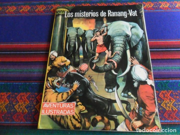 LOS MISTERIOS DE RANANG-VAT. AVENTURAS ILUSTRADAS Nº 2. EDITORIAL FERMA 1967. RÚSTICA. (Tebeos y Comics - Ferma - Aventuras Ilustradas)