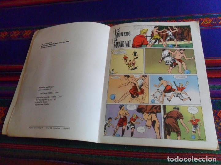 Tebeos: LOS MISTERIOS DE RANANG-VAT. AVENTURAS ILUSTRADAS Nº 2. EDITORIAL FERMA 1967. RÚSTICA. - Foto 2 - 260622805