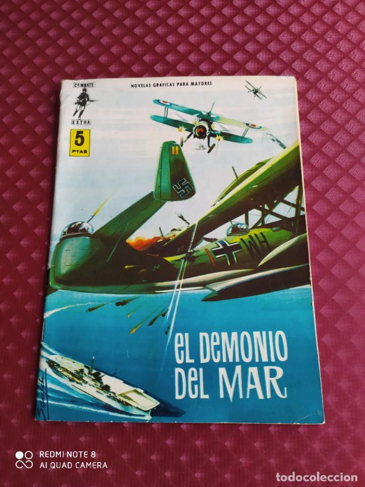 COMBATE EXTRA Nº 2 EL DEMONIO DEL MAR 1963 FERMA MUY BUEN ESTADO (Tebeos y Comics - Ferma - Combate)