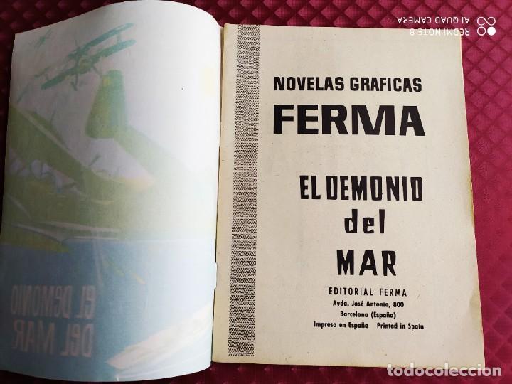 Tebeos: COMBATE EXTRA Nº 2 EL DEMONIO DEL MAR 1963 FERMA MUY BUEN ESTADO - Foto 2 - 260773970