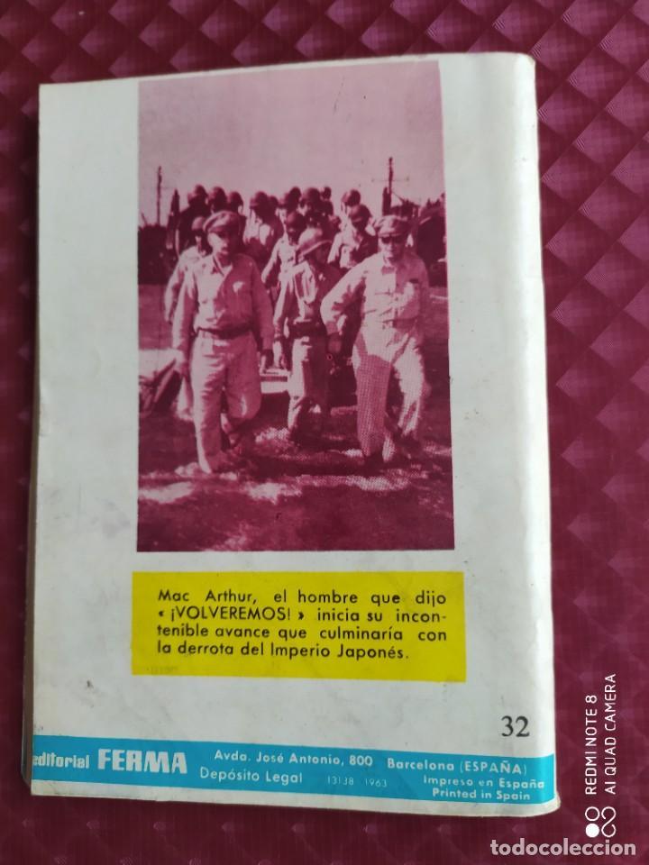 Tebeos: GRANDES BATALLAS 32 OKINAWA 1963 FERMA - Foto 3 - 260774450