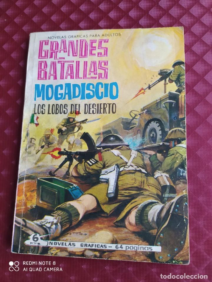 GRANDES BATALLAS 42 MOGADISCIO 1965 FERMA (Tebeos y Comics - Ferma - Otros)