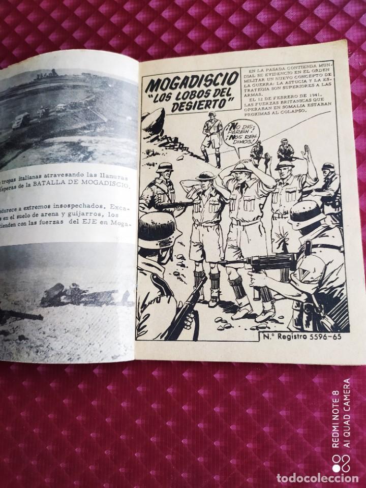 Tebeos: GRANDES BATALLAS 42 MOGADISCIO 1965 FERMA - Foto 2 - 260774785