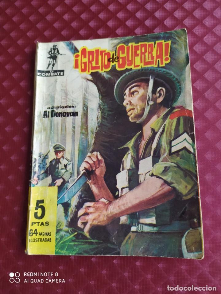 COMBATE Nº 64 GRITO DE GUERRA AL DONOVAN 1962 FERMA (Tebeos y Comics - Ferma - Combate)
