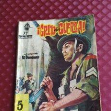 Tebeos: COMBATE Nº 64 GRITO DE GUERRA AL DONOVAN 1962 FERMA. Lote 260775225