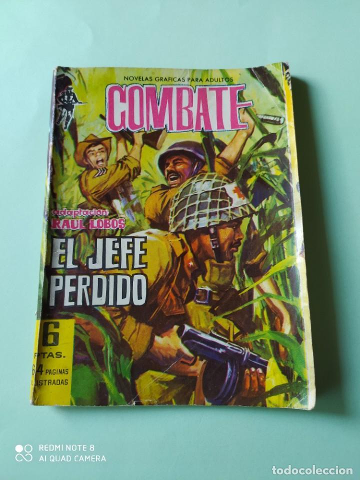 COMBATE 105 FERMA EL JEFE PERDIDO (Tebeos y Comics - Ferma - Combate)