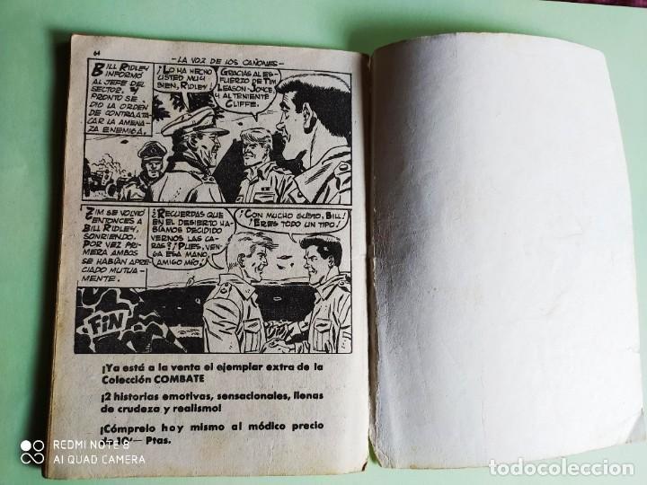 Tebeos: COMBATE EXTRA FERMA Nº 5 LA VOZ DE LOS CAÑONES - Foto 4 - 261145135