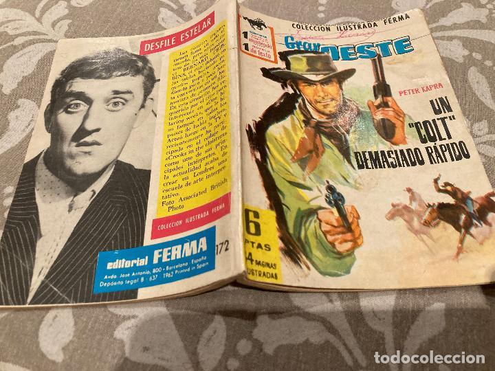 GRAN OESTE Nº 172 UN COLT DEMASIADO RAPIDO (Tebeos y Comics - Ferma - Gran Oeste)