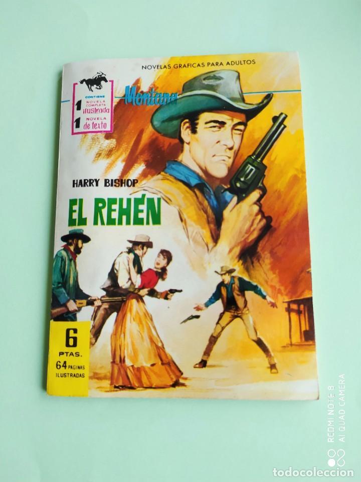 MONTAÑA OESTE EL REHEN 235 FERMA 1962 MUY BUEN ESTADO (Tebeos y Comics - Ferma - Otros)
