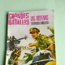Tebeos: GRANDES BATALLAS Nº 36 LAS ARDENAS 1963 FERMA. Lote 261631615