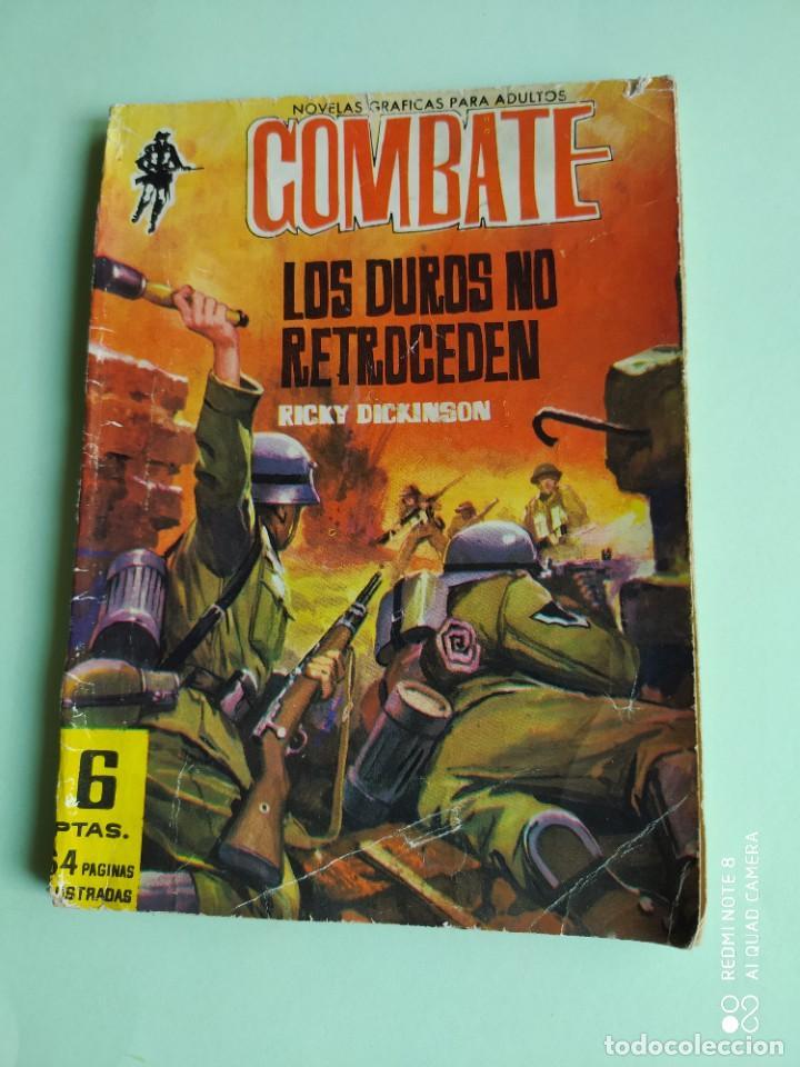 COMBATE 107 LOS DUROS NO RETROCEDEN 1962 FERMA CON KIM NOVAK (Tebeos y Comics - Ferma - Combate)