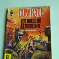 Tebeos: COMBATE 107 LOS DUROS NO RETROCEDEN 1962 FERMA CON KIM NOVAK. Lote 261632290