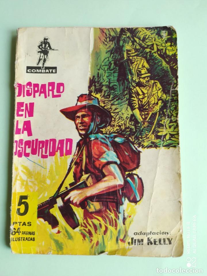 COMBATE 52 DISPARO EN LA OSCURIDAD 1962 FERMA ADAPTACION JIM KELLY (Tebeos y Comics - Ferma - Combate)