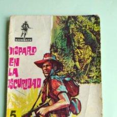 Tebeos: COMBATE 52 DISPARO EN LA OSCURIDAD 1962 FERMA ADAPTACION JIM KELLY. Lote 261633010