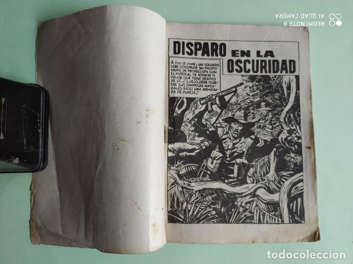 Tebeos: COMBATE 52 DISPARO EN LA OSCURIDAD 1962 FERMA ADAPTACION JIM KELLY - Foto 2 - 261633010