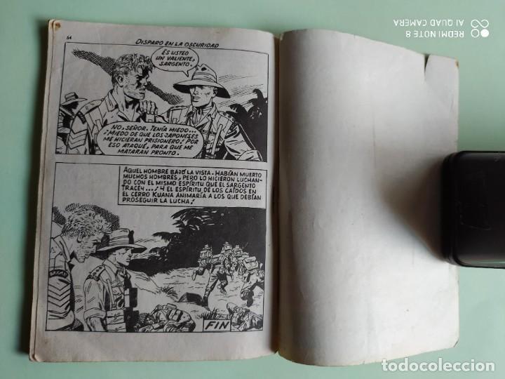 Tebeos: COMBATE 52 DISPARO EN LA OSCURIDAD 1962 FERMA ADAPTACION JIM KELLY - Foto 3 - 261633010