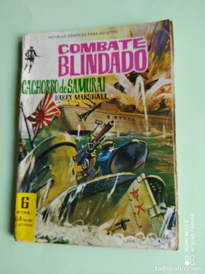 COMBATE BLINDADO 126 CACHORRO DE SAMURAI 1962 FERMA HARRY MARSHALL DANY SAVAL (Tebeos y Comics - Ferma - Combate)