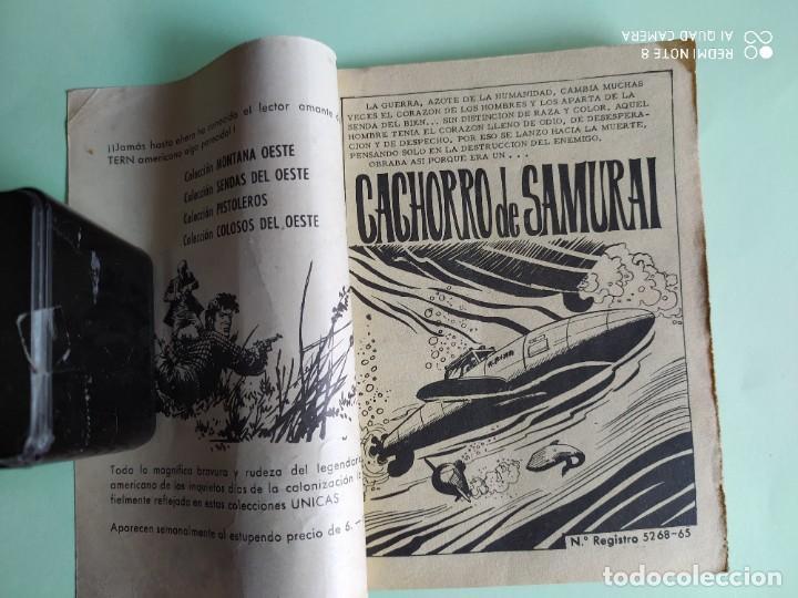 Tebeos: COMBATE BLINDADO 126 CACHORRO DE SAMURAI 1962 FERMA HARRY MARSHALL DANY SAVAL - Foto 2 - 261633680