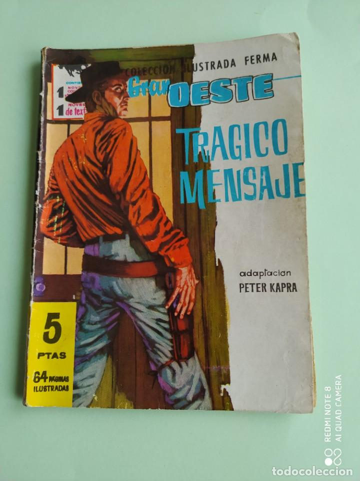 GRAN OESTE 114 FERMA TRAGICO MENSAJE 1962 PETER KARPA (Tebeos y Comics - Ferma - Gran Oeste)