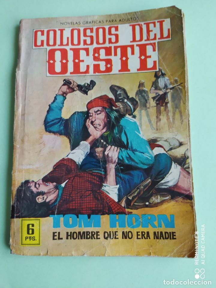 COLOSOS DEL OESTE 114 TOM HORN FERMA 1964 (Tebeos y Comics - Ferma - Colosos de Oeste)