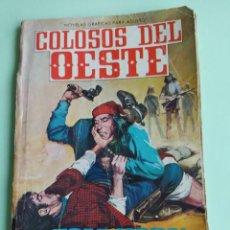 Tebeos: COLOSOS DEL OESTE 114 TOM HORN FERMA 1964. Lote 261634720