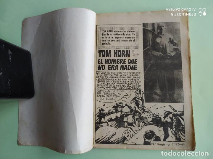 Tebeos: COLOSOS DEL OESTE 114 TOM HORN FERMA 1964 - Foto 2 - 261634720