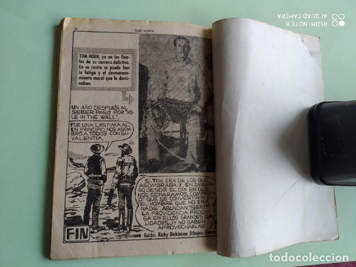 Tebeos: COLOSOS DEL OESTE 114 TOM HORN FERMA 1964 - Foto 3 - 261634720