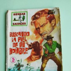 Tebeos: SENDAS SALVAJES 4 LA LEY DE LA SOGA FERMA 1962 BILLY MUSTART. Lote 261635390