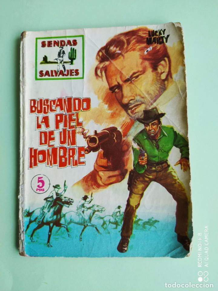 SENDAS SALVAJES 12 BUSCANDO LA PIEL DE UN HOMBRE FERMA 1962 (Tebeos y Comics - Ferma - Otros)