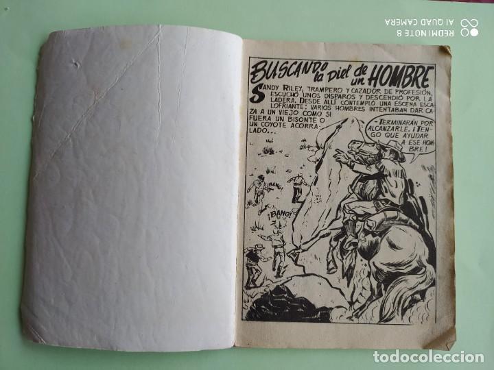 Tebeos: SENDAS SALVAJES 12 BUSCANDO LA PIEL DE UN HOMBRE FERMA 1962 - Foto 2 - 261635840