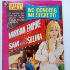 Tebeos: NO CONOCES MI SECRETO - COLECCIÓN DAMITA Nº 370 - EDITORIAL FERMA. Lote 262205260
