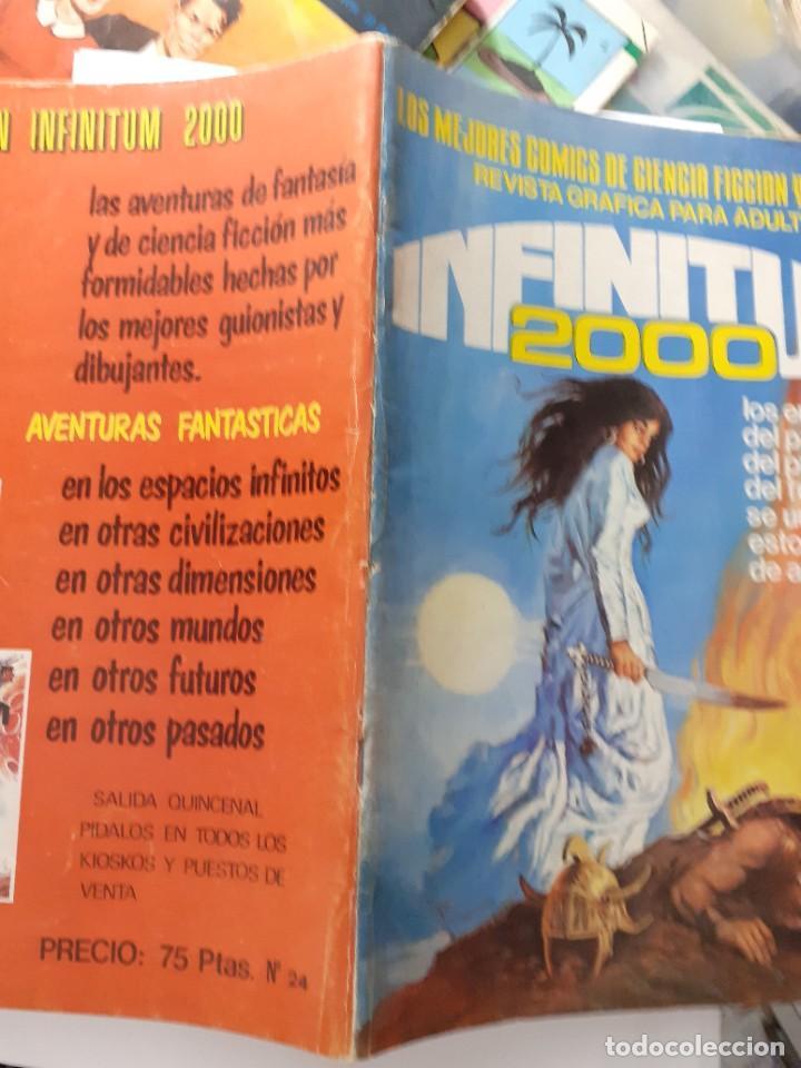Tebeos: INFINITUM 2000- Nº 24 -LOS MEJORES CÓMICS DE CIENCIA FICCIÓN Y FANTASÍA-1981-BUENO-DIFÍCIL-LEA-4710 - Foto 2 - 262290395