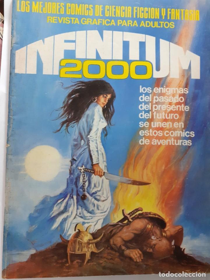 INFINITUM 2000- Nº 24 -LOS MEJORES CÓMICS DE CIENCIA FICCIÓN Y FANTASÍA-1981-BUENO-DIFÍCIL-LEA-4710 (Tebeos y Comics - Ferma - Otros)