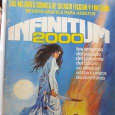 Tebeos: INFINITUM 2000- Nº 24 -LOS MEJORES CÓMICS DE CIENCIA FICCIÓN Y FANTASÍA-1981-BUENO-DIFÍCIL-LEA-4710. Lote 262290395