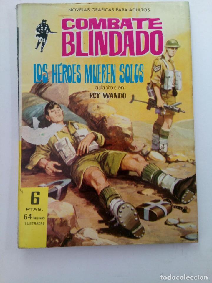 LOS HÉROES MUEREN SOLOS - COMBATE BLINDADO Nº 135 - EDITORIAL FERMA (Tebeos y Comics - Ferma - Otros)