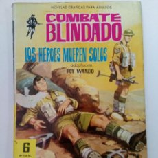 Livros de Banda Desenhada: LOS HÉROES MUEREN SOLOS - COMBATE BLINDADO Nº 135 - EDITORIAL FERMA. Lote 262429495